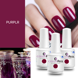 beauty lady nails soak off uv gel nail polish nail salon supply