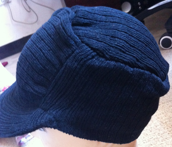 440b68c1d0428 Men s Knit Hat With Visor