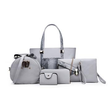 Wholesale Mumbai Ladies Bags Hand Bags Set 6 Pcs Women Bag Handbag ... d0925d5f3c5d0