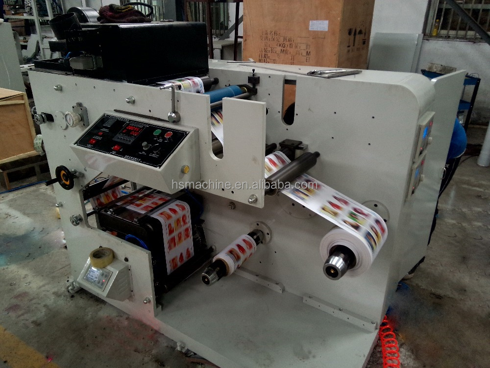 HSS-320 one colour Flexo printing machine from HongSheng