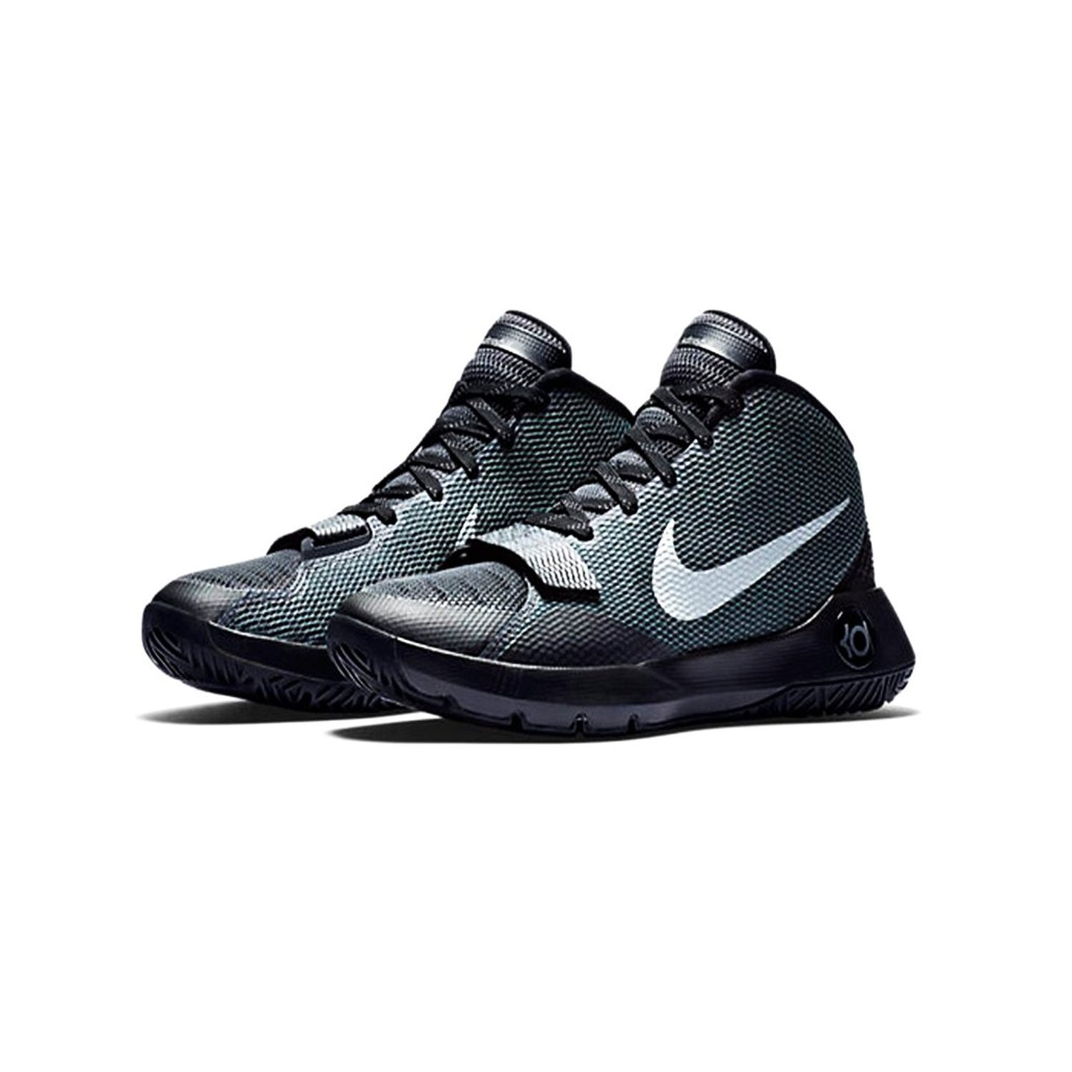 97b227214963 Get Quotations · Nike Mens KD Trey5III Black Anthracite Dark Grey M.Silver  Basketball Shoes 8