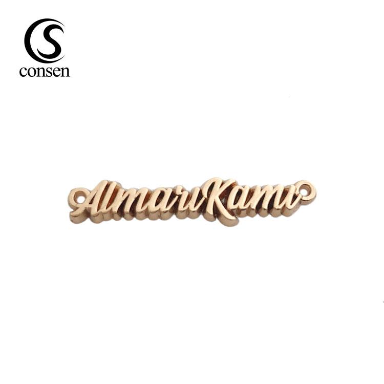 "24 quilates dorado número/"" 0/"" styling pegatinas auto emblema Letters cursiva"