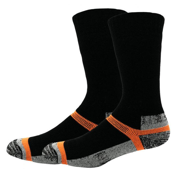 Iyi satış 100% merinos yünü sıcak bakır yürüyüş çorapları