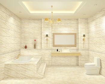 Marble Design Nano Finish Ceramic Tile Manufacturers Foshan Bathroom Wall