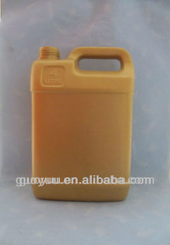 Square Plastic machine Oil Bottles1 gallon