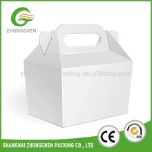 Customized Eco-friendly lunch/snack packaging box for airplane