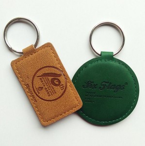custom PU foam printed logo oval shape floating key chain