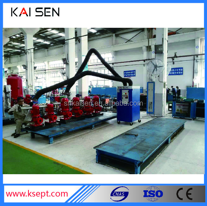 new dust collect system welding fume extractor KSZ-1.5S series manufacturer