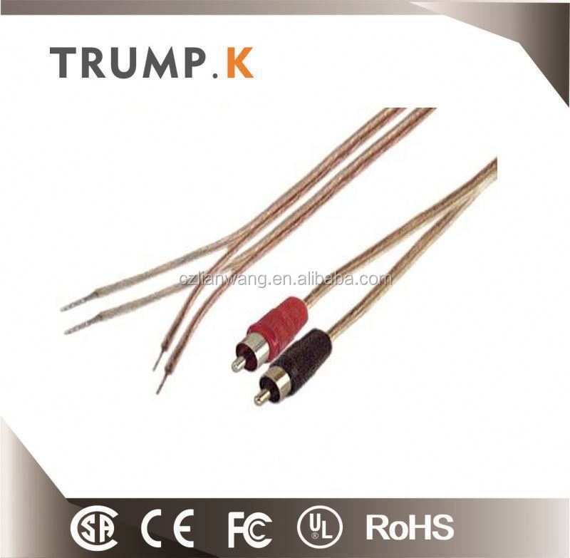 Outdoor transparent copper speaker coil wire cable