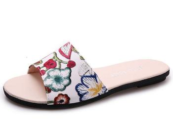 d034a948459 Latest Fancy Printing Ladies Slippers Shoes And Sandals For Sale ...
