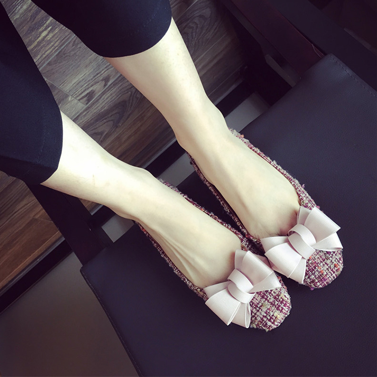Excellent quality new arrival simple style satin upper flat women shoes new fashion driving sole women flat shoes