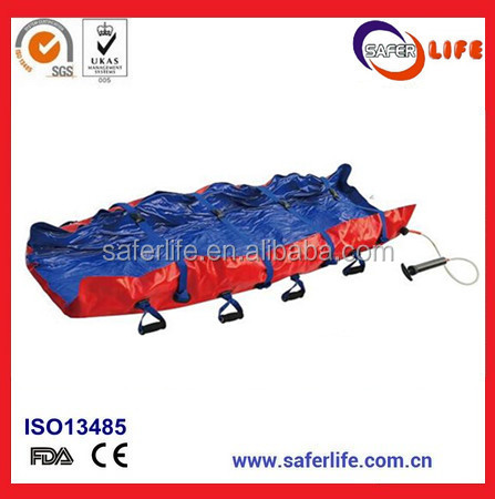 Transport Patient Vacuum Inflatable Ambulance Foldaway Stretcher Emergency Rescue