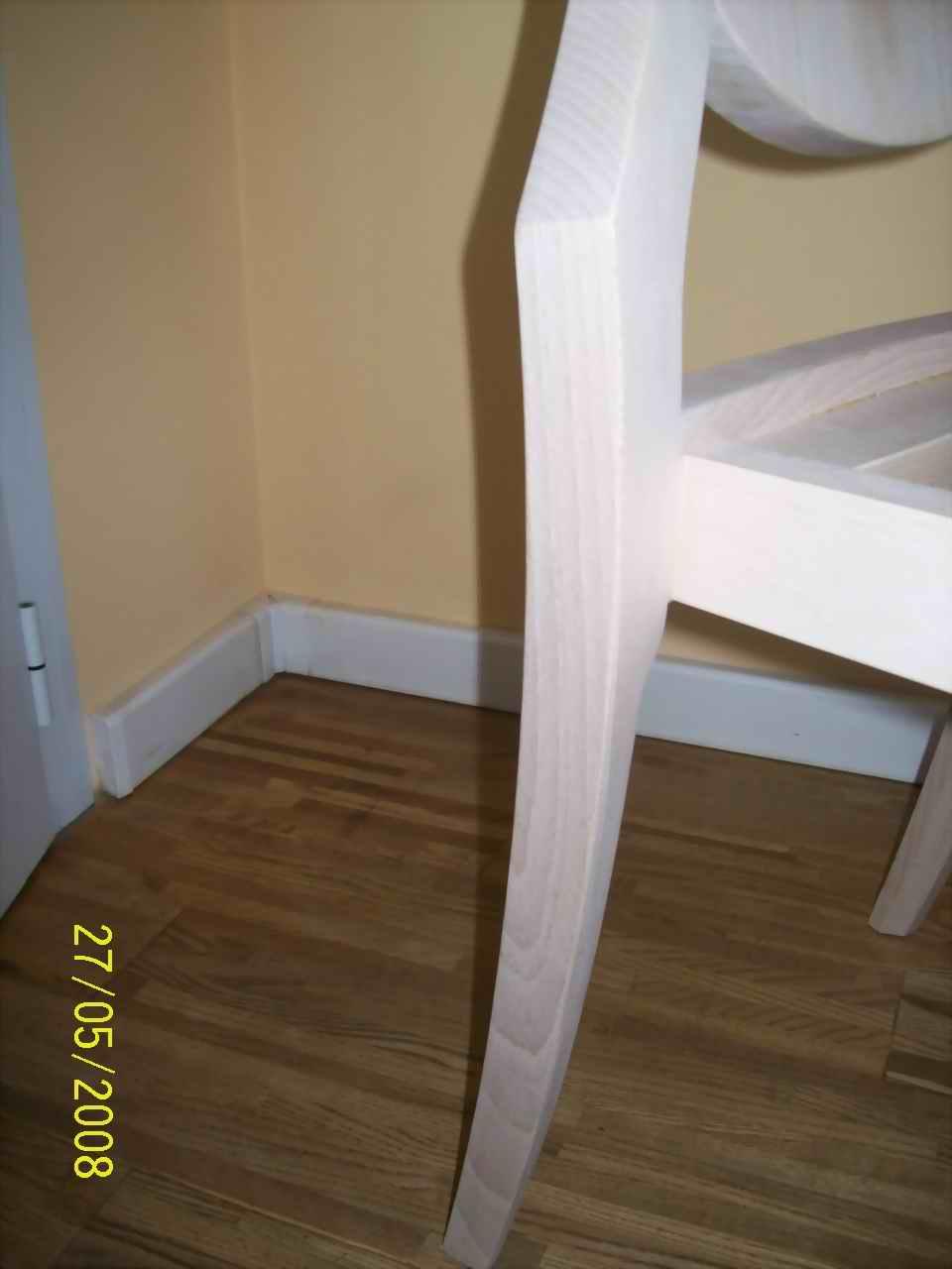 Beech wood furniture elements