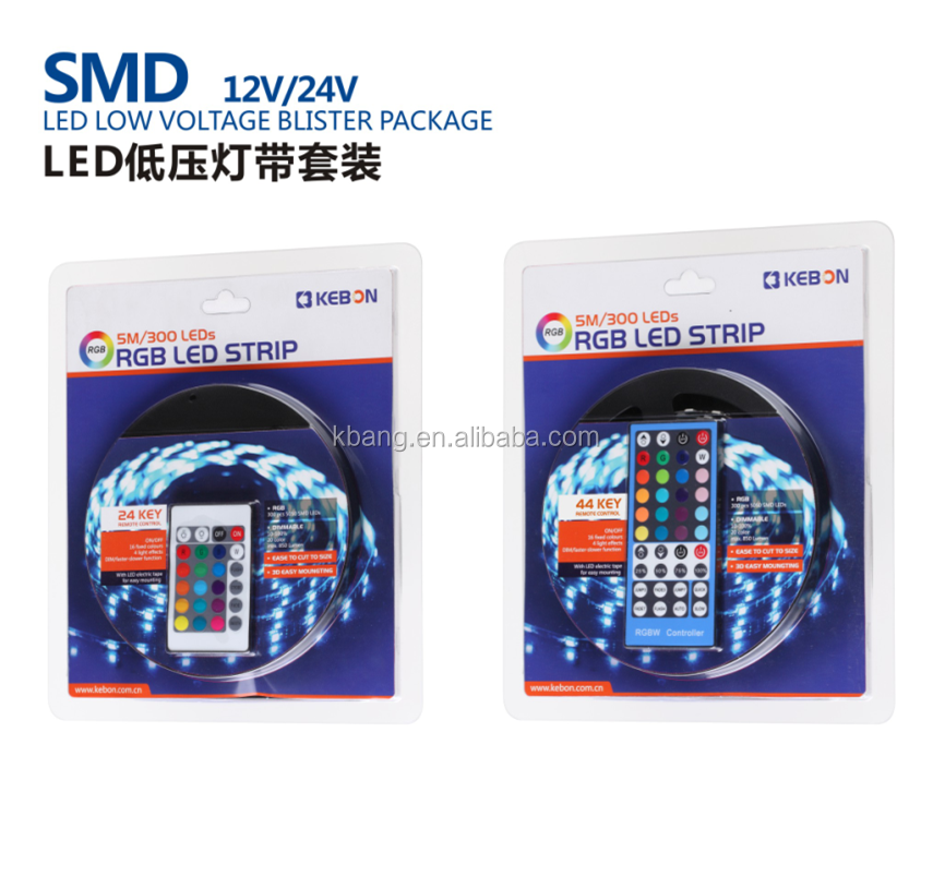 hot sell flexible waterproof <strong>RGB</strong> SMD5050 led strip light 5Meter 300LED <strong>RGB</strong> 12V Blister Package