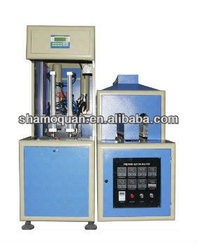 Semi-automatic PET small mineral water bottle blowing machine