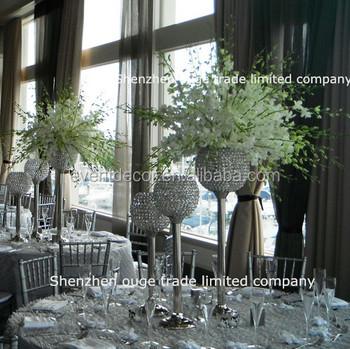 Kristall Perlen Säule Kerzenständer/Acryl Kristall Hochzeit Mittelpunkt/ Tisch Kerzenständer