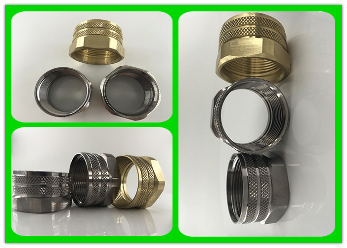 Factory Direct Sale Custom Stainless Steel Brass Cnc Machining Turning Parts Gland cable mount plug Coaxial Connectors