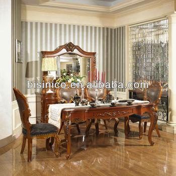New Classical Mobília Da Sala De Jantar Mesa De Jantarcadeiras De