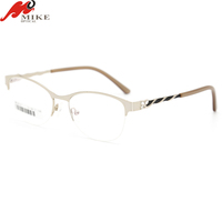 designer frames glasses half rim glasses new fashion eyeglasses new optical frame glasses eyewear