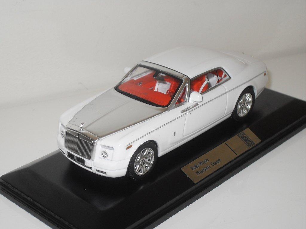 Rolls Royce Phantom Coupe (2008) Diecast Model Car