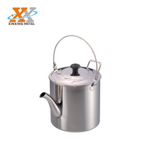1.8L Stainless Steel Camping Tea Kettle Tea Pot For Sale