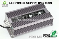 Waterproof Metal Ultra Thin 200W 40A 5V Led Power Supply