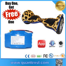 2017 Quantex Factory Price Two Wheel Finger Hoverboard Scooter Electric Delivery for Sale