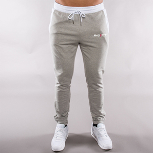 OEM Gym Jogging Joggers Mens Fleece Fitted Pants