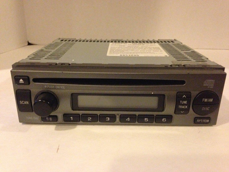get quotations · subaru impreza clarion 2004-2007 pf-2597a-b car in-dash  receiver