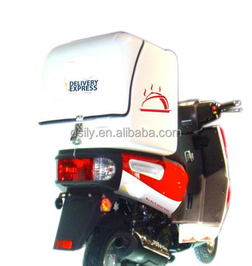 Insulated Hot Food Boxes Shipping Delivery Scooter with Delivery Box for motorcycle and bike