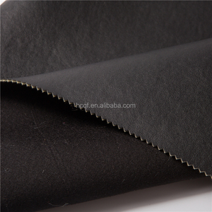 Good Looking cheap black synthetic leather for clothes