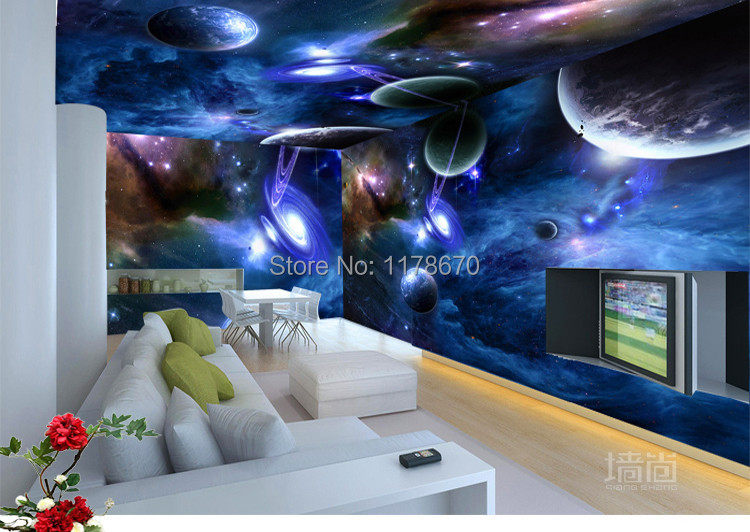 Wholesale 3d Personalized Custom Galaxy Star Restaurant