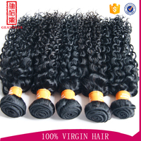 Cruly wave alibaba aliexpress brazilian hair wave and weft