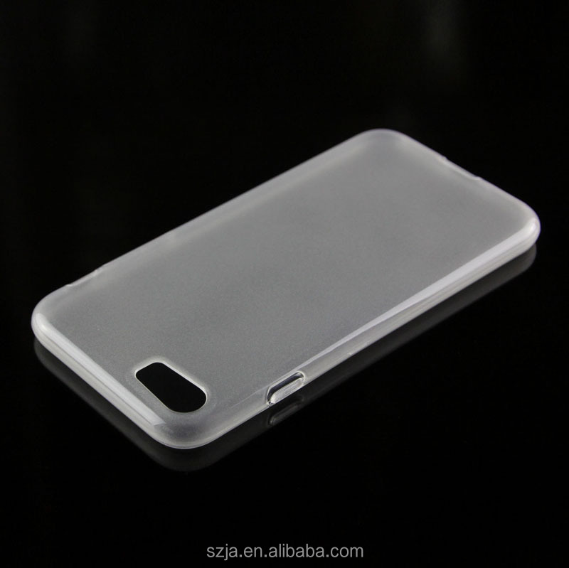 Soft TPU Matte Frosted Clear Cover for apple iPhone 7 Case