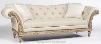 Französisch Stil Luxus Möbel Wohnzimmer Sofa Weiß Handcrafted ...