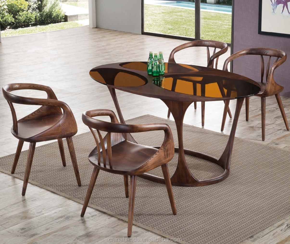 MA-ZM-823 Restaurant Furniture Restaurant Dining Set Restaurant Table and Chair