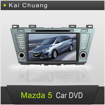 2 Din 8inch Touch Screen Car Dvd Radio Mazda 5 With Gps