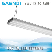 Ceiling and hanging optional 100lm/w LED T8 linear light 30W 1200mm