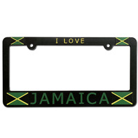 Canada USA Size Metal ABS Plastic Custom Car License Plate Frame Wholesale Number Plate Frame