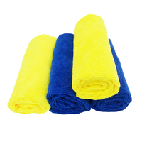 Quick drying microfiber towel car wash ultra fine microfiber cleaning cloth
