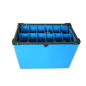 Pp Corrugated adjustable plastic storage Plastic Tote And Store Box