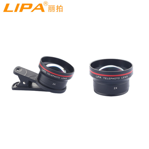 LIPA cell phone lens 2x zoom 65mm Telephoto lens for mobile phone