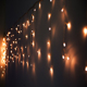 Outdoor indoor led holiday lighting fairy window curtain lights