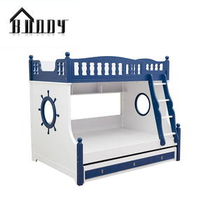Bedroom Set Specific Use MDF combination wooden kids bunk bed
