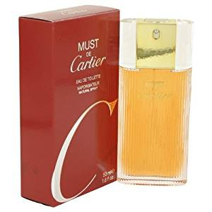 Must De Cartier Perfume by Cartier, 1.6 oz Eau De Toilette Spray for Women