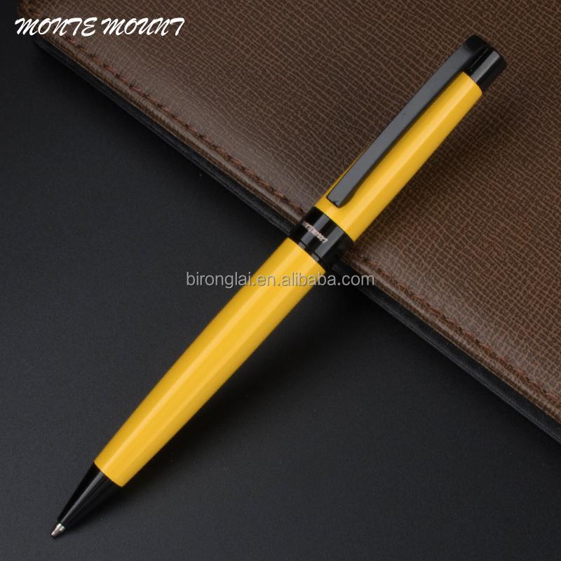 Monte Mount X912 Negocio Regalo Bolígrafo Recarga Negro (amarillo Y Negro  Elegante ...