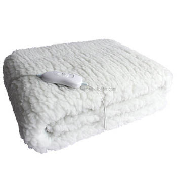 Electric Heating Synthetic Wool Blanket Table Warmer