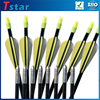 high quality carbon arrow shafts and carbon fiber arrow archery bow with factory price
