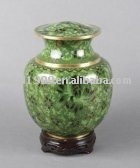 P413 Chinese Cheap Cloisonne Funeral Urn