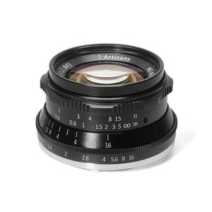 7artisans 35mm F1.2 Manual Focus Fixed Prime Lens for Sony Canon Fujifilm camera